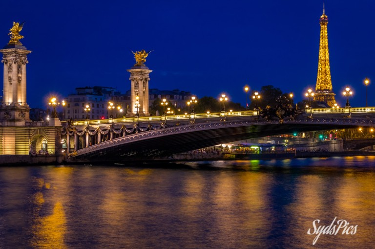 All Lit Up - Pont Alexandre III, Paris, France