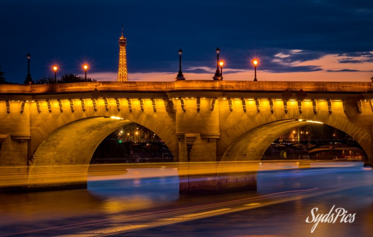 Under the Bridge - Pont Neuf, Paris